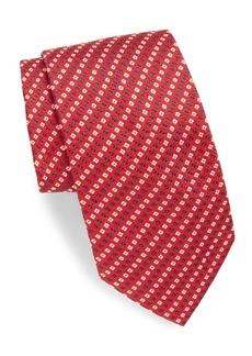 Brioni Mini Printed Silk Tie