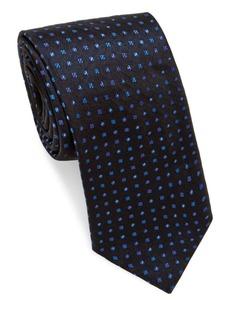 Brioni Multi Mini Dots Silk Tie