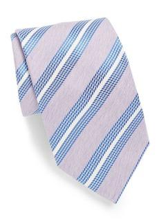 Brioni Multi Stripe Silk Tie