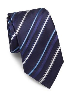 Brioni Multi-Striped Silk Tie