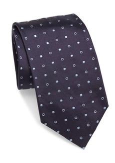 Brioni Open and Closed Silk Tie