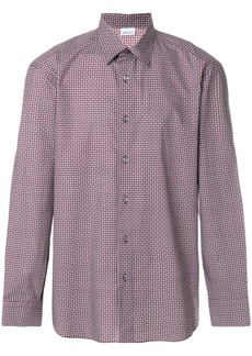 Brioni patterned shirt - Red