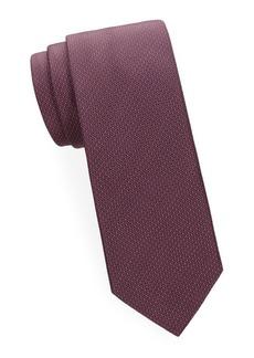 Brioni Pin Dot Silk Tie