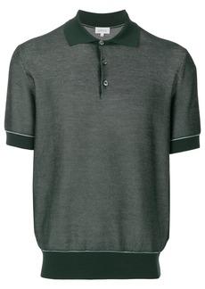 Brioni piquet polo shirt - Green