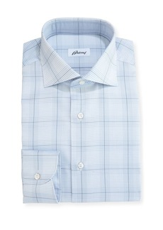 Brioni Plaid Dress Shirt