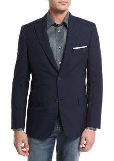 Brioni Seersucker Two-Button Sport Coat