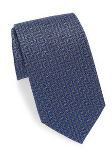 Brioni Shape Design Silk Tie
