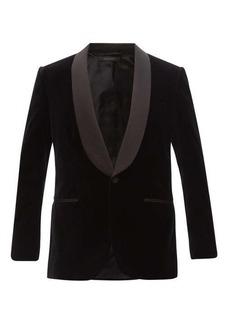 Brioni BP Signature cotton-velvet tuxedo jacket