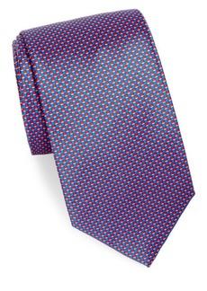 Brioni Silk Check Tie