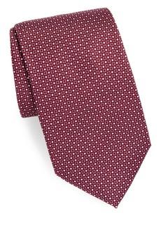 Brioni Silk Embroidered Tie