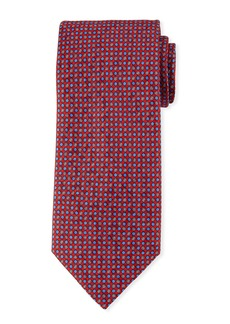 Brioni Small Circles Silk Tie