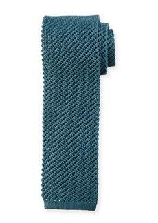 Brioni Solid Silk Knit Tie