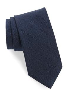 Brioni Solid Silk Tie