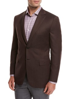 Brioni Solid Wool Sport Coat
