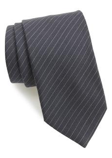 Brioni Stripe Wool & Silk Tie