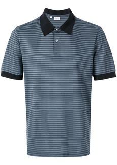Brioni striped polo shirt - Blue