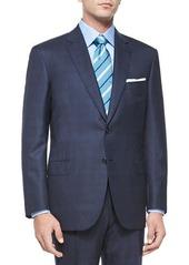 Brioni Super 160s Plaid Two-Piece Suit