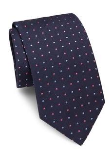 Brioni Textured Italian-Silk Tie