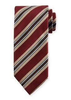 Brioni Two Striped Silk Tie