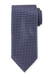 Brioni Two-Tone Neat Box Silk Tie