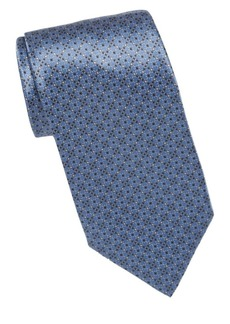 Brioni Broken Diamond Silk Tie