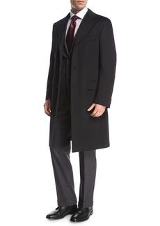 Brioni Cashmere Top Coat