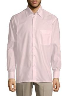 Brioni Casual Cotton Button-Down Shirt