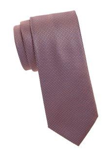 Brioni Chain Print Silk Tie
