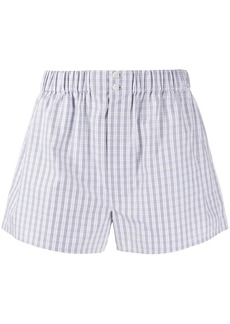 Brioni check relaxed-fit boxers