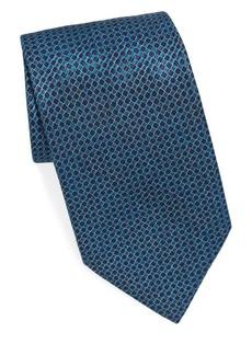 Brioni Checkered Silk Tie