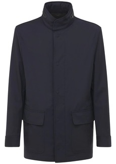 Brioni City Wool Performance Field Jacket