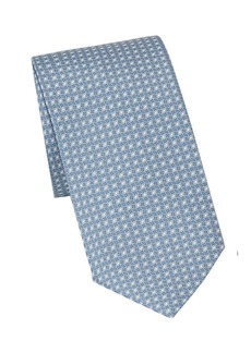 Brioni Concentric Ovals Printed Tie