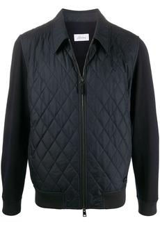 Brioni contrast padded jacket