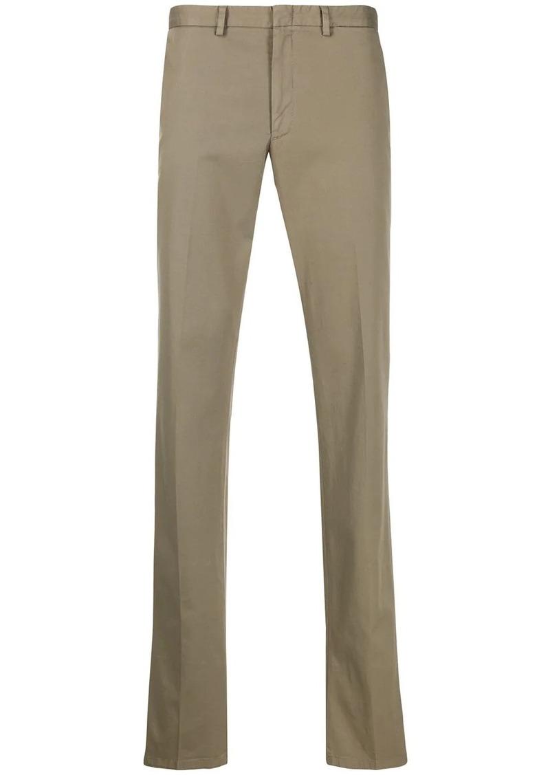 Brioni cotton-blend straight-leg chinos
