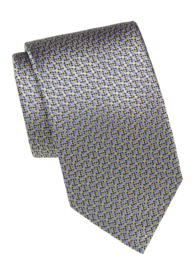 Brioni Digital Print Silk Tie