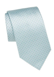 Brioni Dot Patterned Silk Tie