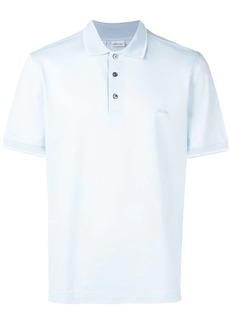 Brioni embroidered chest logo polo shirt