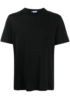 Brioni embroidered-logo cottonT-shirt