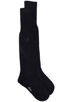 Brioni fine knit mid-calf socks