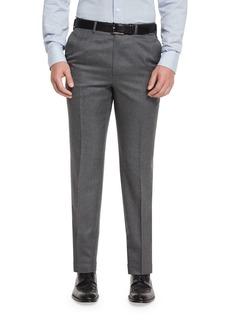 Brioni Flat-Front Twill Trousers