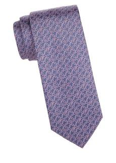Brioni Geo Silk Tie