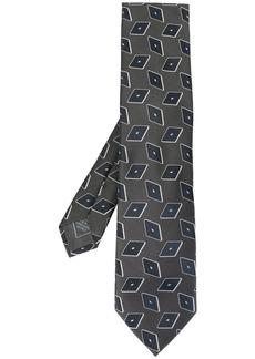 Brioni geometric pattern tie