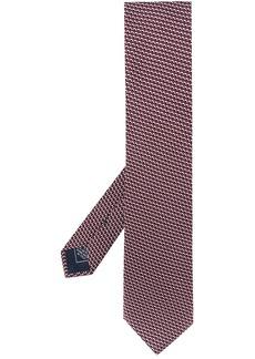 Brioni geometric-print pointed tie