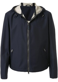 Brioni hooded lightweight jacket