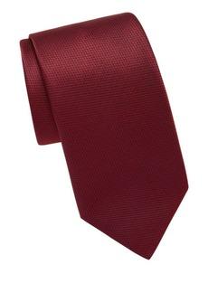 Brioni Houndstooth Silk Tie