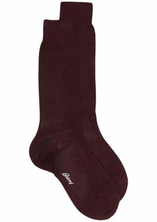 Brioni lightweight cotton knit socks