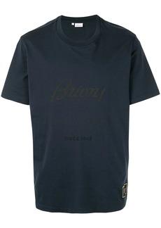 Brioni logo print T-shirt