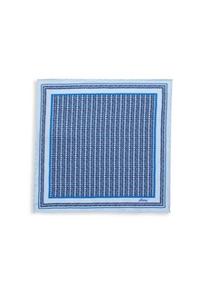 Brioni Loom Weave Silk Pocket Square