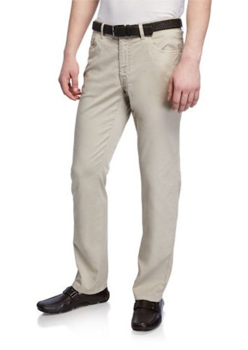Brioni Men's 5-Pocket Straight-Leg Pants