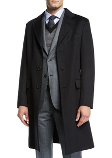 Brioni Men's Cashmere Car Coat